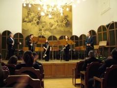 Magyar Klarinét Együttes & Balogh József<br /> Balogh József Rhapsody<br /> Balassa Emlékest, 2008.02.17.