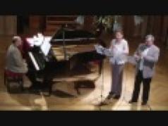 F.Mendelssohn Konzertstücke Op.114 No.2<br /> Szabó Rajczi Katalin Szabó András Rózsa Gábor<br /> H - Budapest 2012.09.22 Nádor Terem